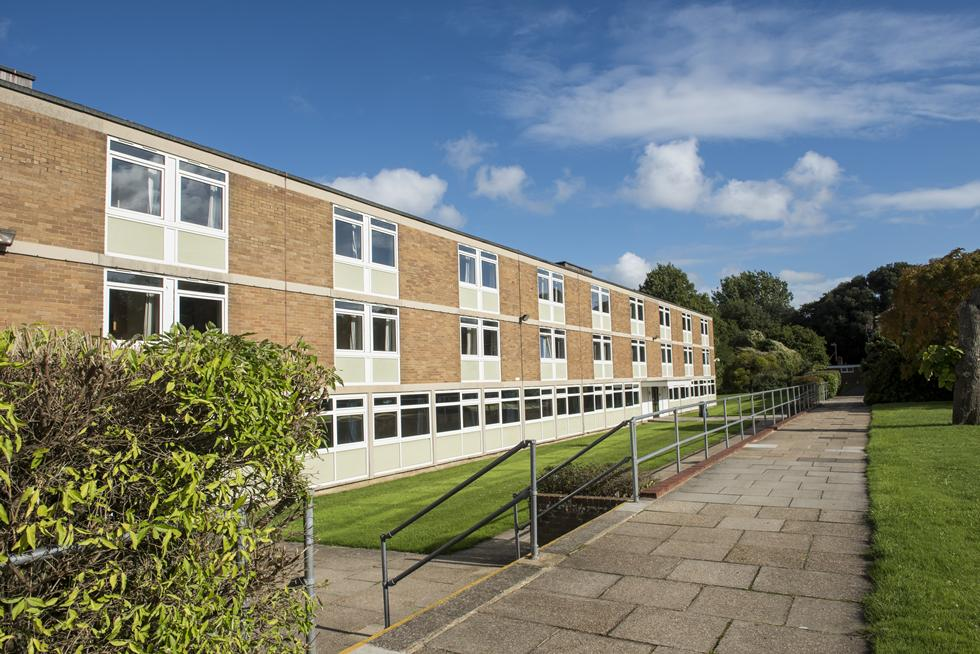 Wessex Lane category 1 non-en suite hall exterior