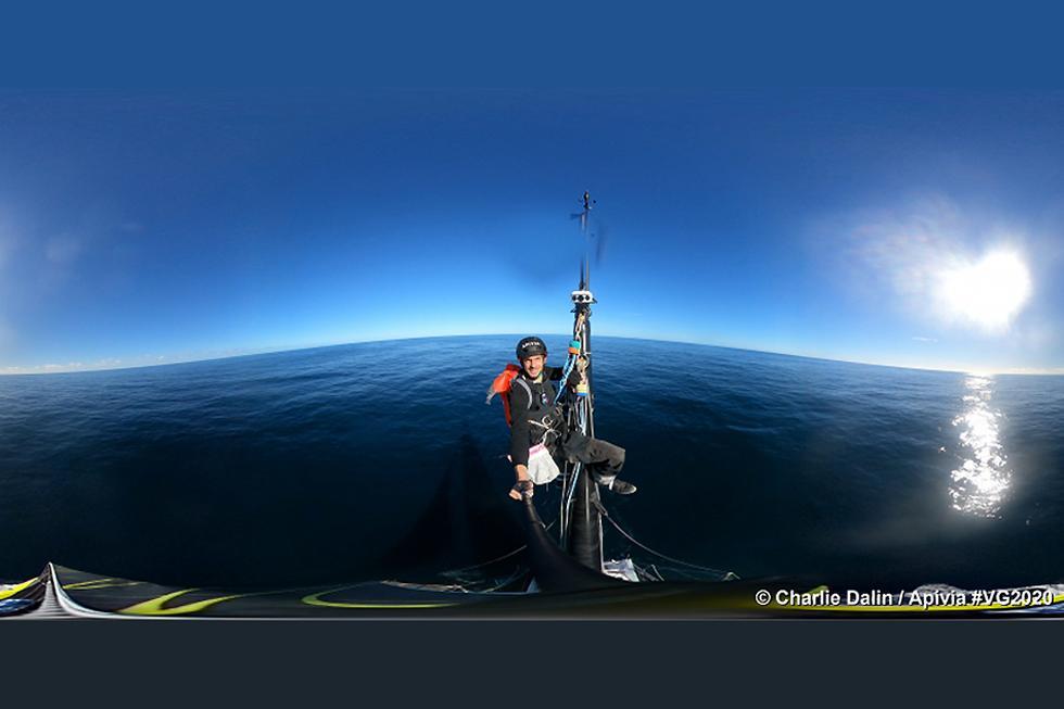 Charlie Dalin sailed around the world in 80 days