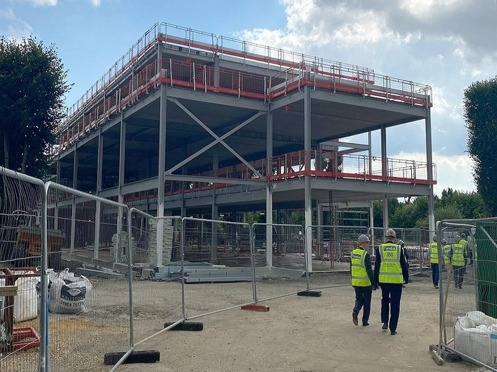 New Engineering Centre under construction