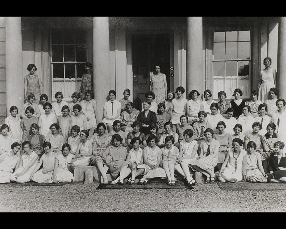 Student life: Highfield Hall students, 1927-8