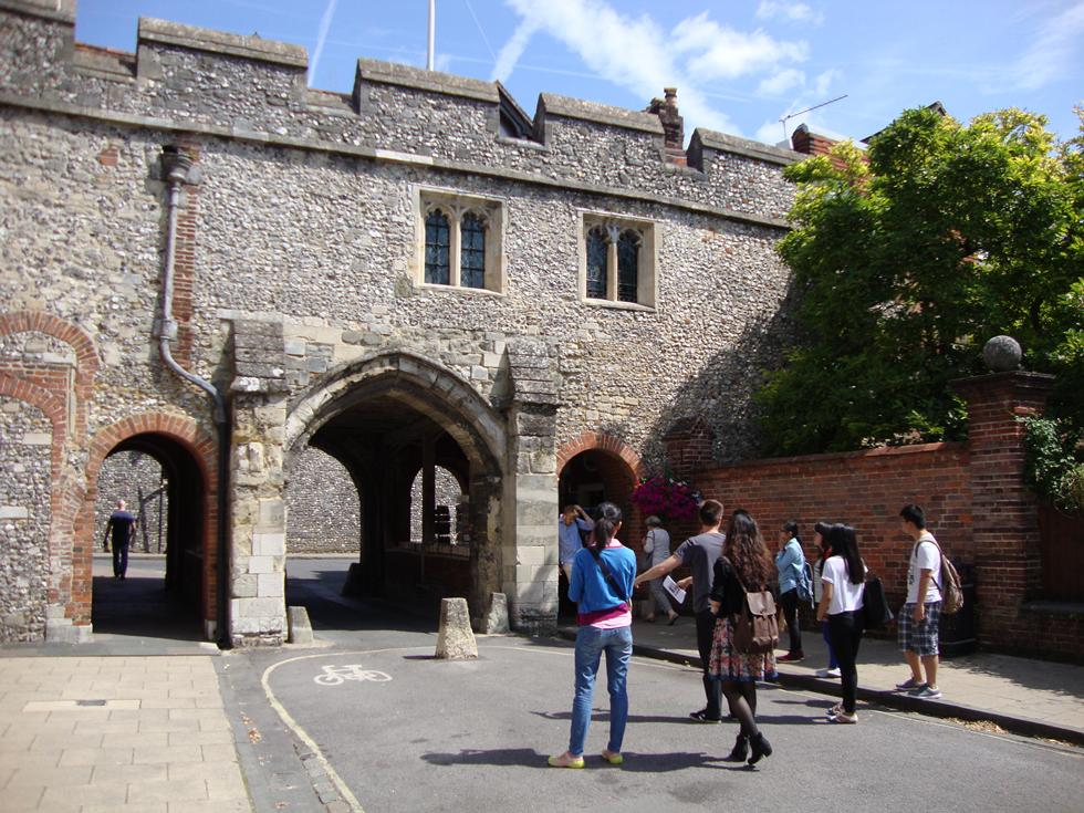Winchester - home of Jane Austen