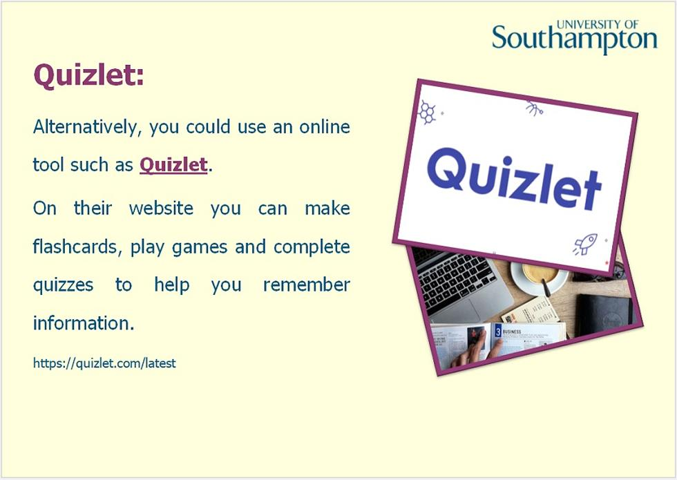 Revision and memory guide - Slide 13
