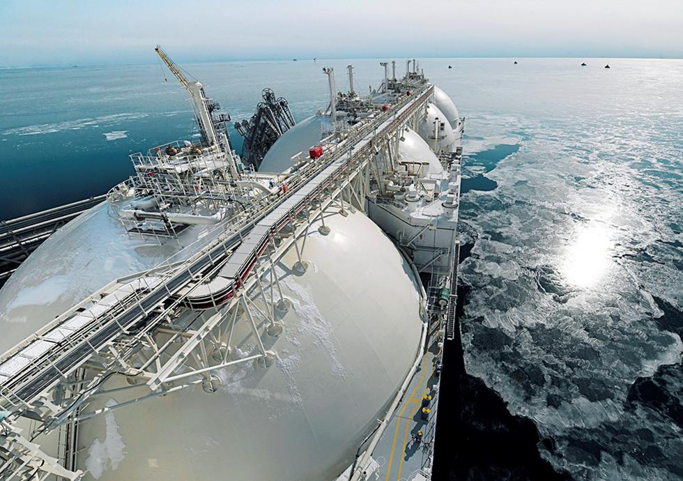 LNG carrier.
