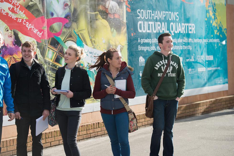 Year 1 human geography trip - Southampton