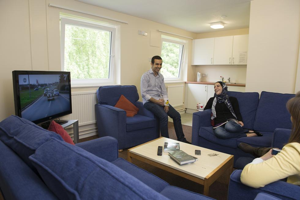 Postgraduate students in St Margaret's Halls accommodation
