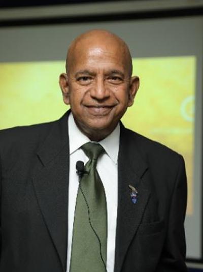 Professor Sri Kandiah's photo