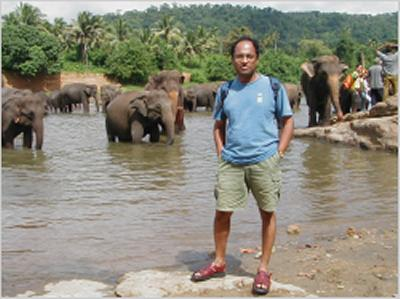 Professor Mahesan Niranjan's photo